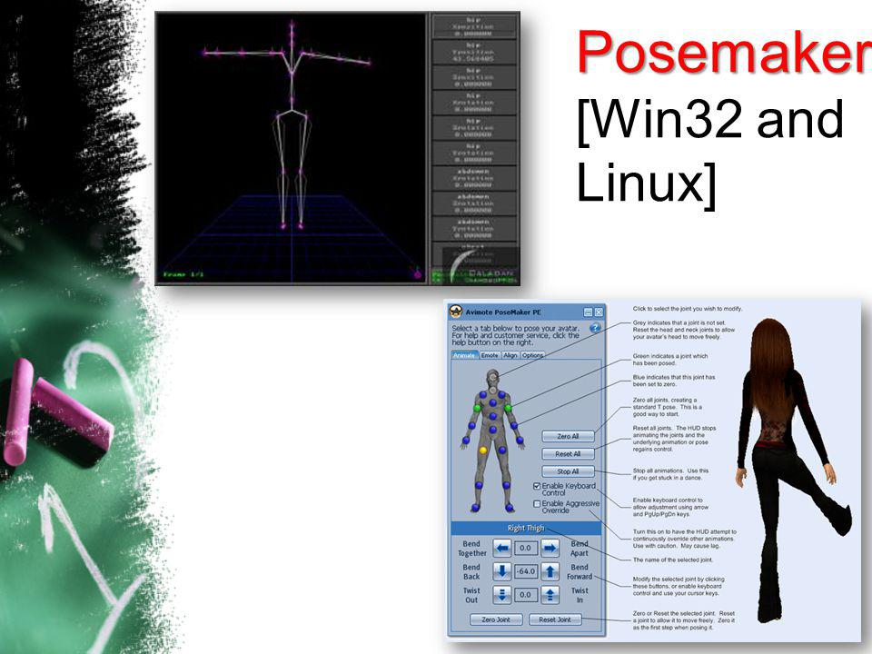 Posemaker [Win32 and Linux]
